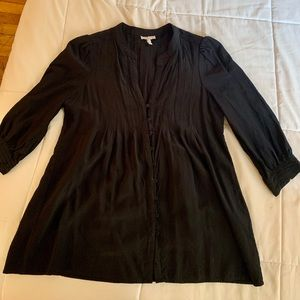 JOIE silky button up top